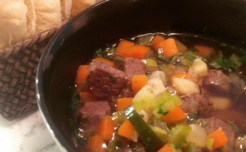 Saltkjøtt-suppe