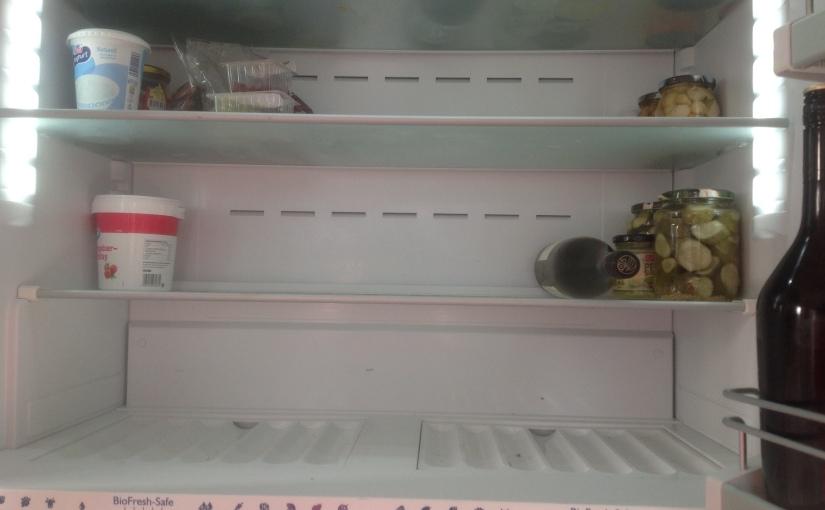 Nytter ikke med tomtkjøleskap.