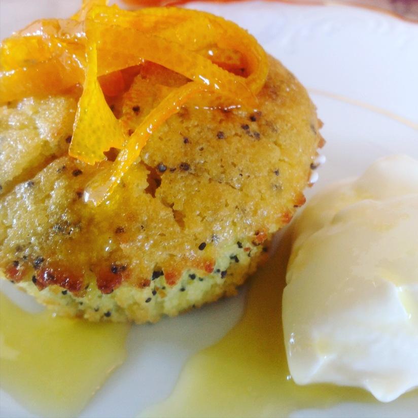 Appelsin og valmuefrøkaker