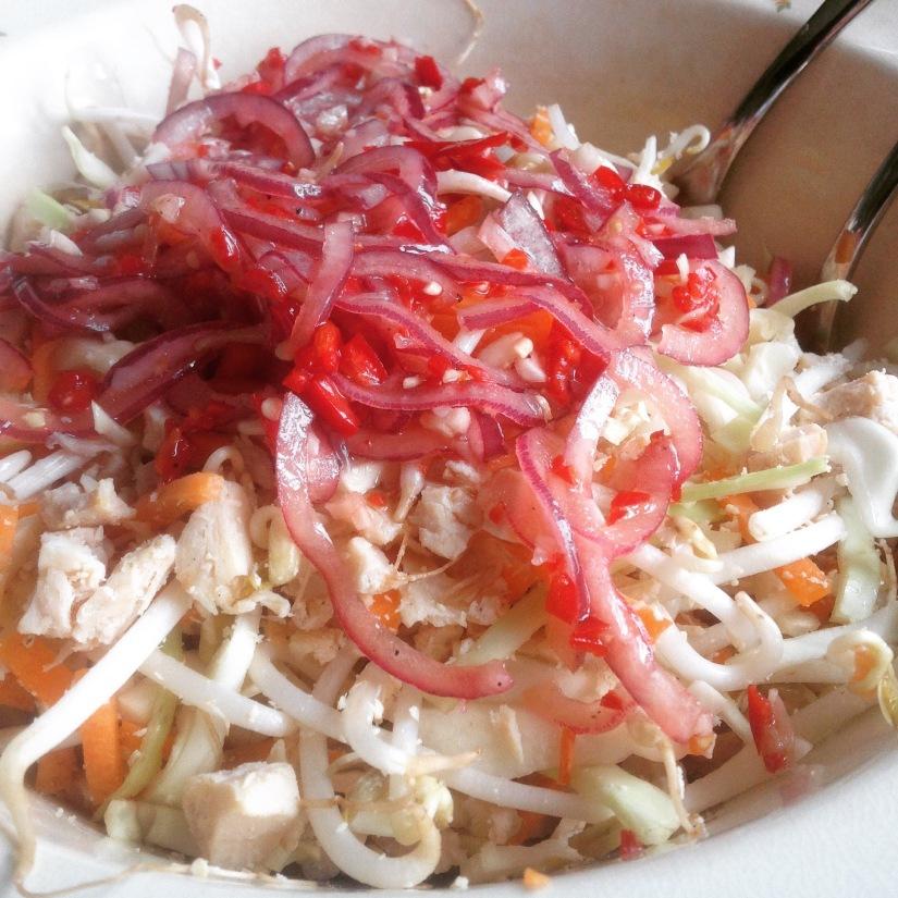 Vietnamesisk kyllingsalat