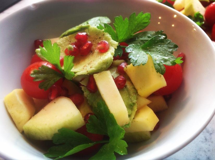 Salat med mango ogavokado