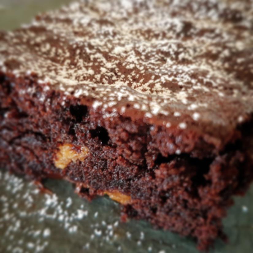 Brownies med peanøttsmør